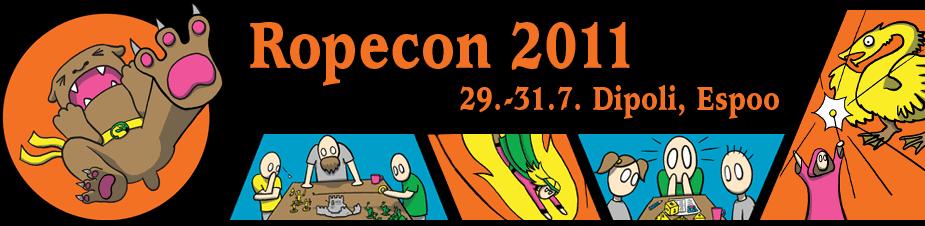 Ropecon 2011 29.-31.7. Dipoli, Espoo